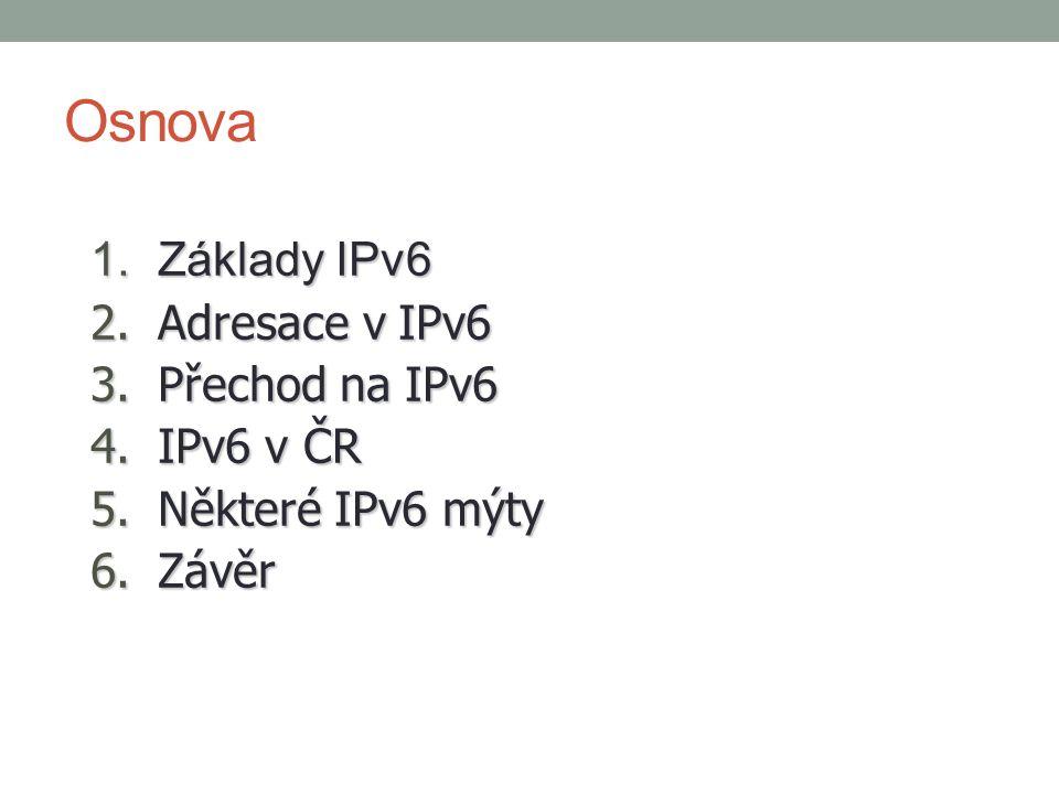1. Základy IPv6