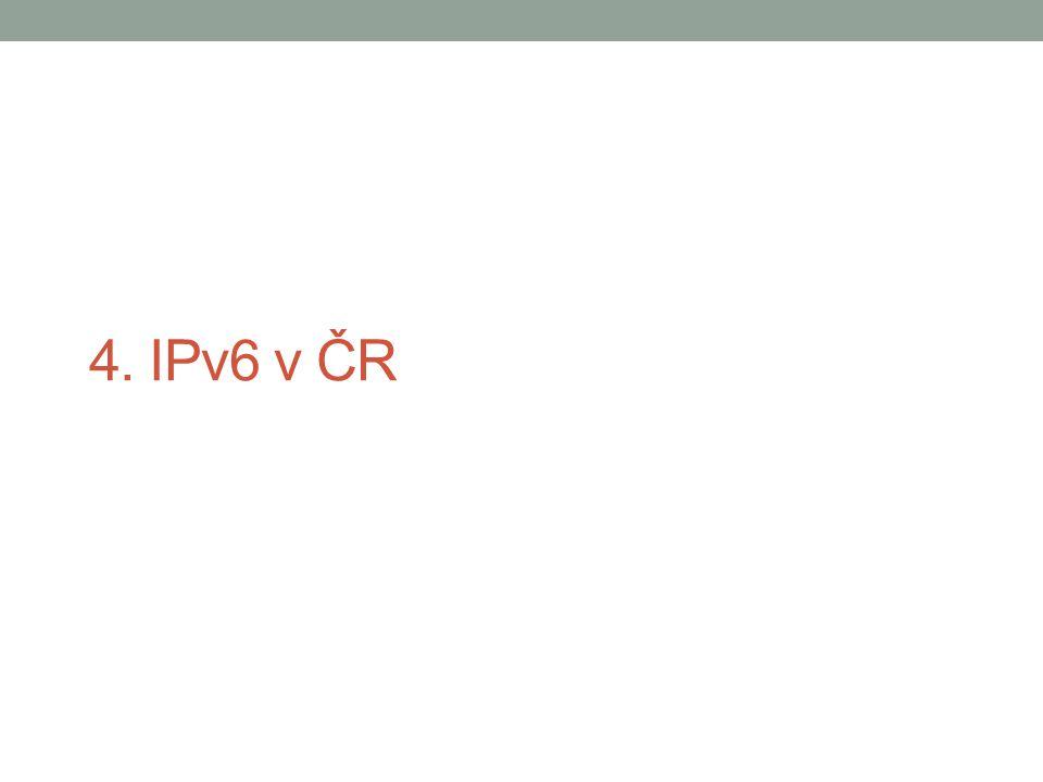4. IPv6 v ČR