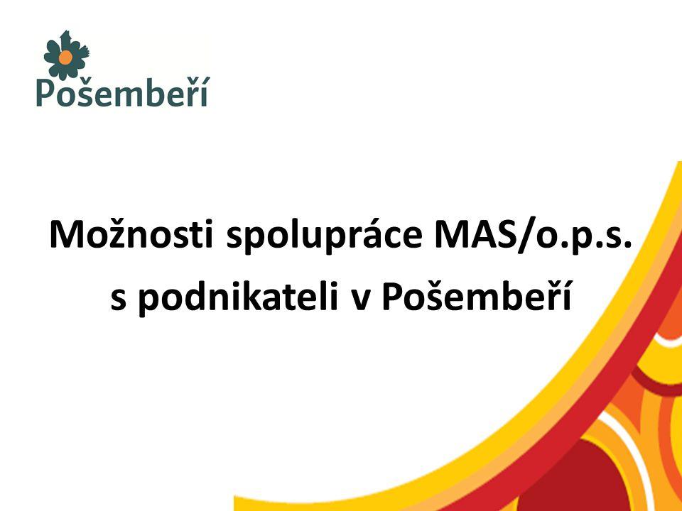 Možnosti spolupráce MAS/o.p.s. s podnikateli v Pošembeří