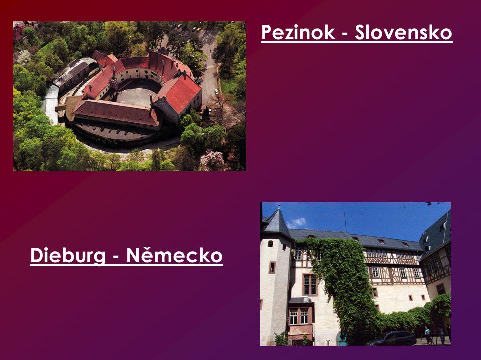 Pezinok - Slovensko Dieburg - Německo