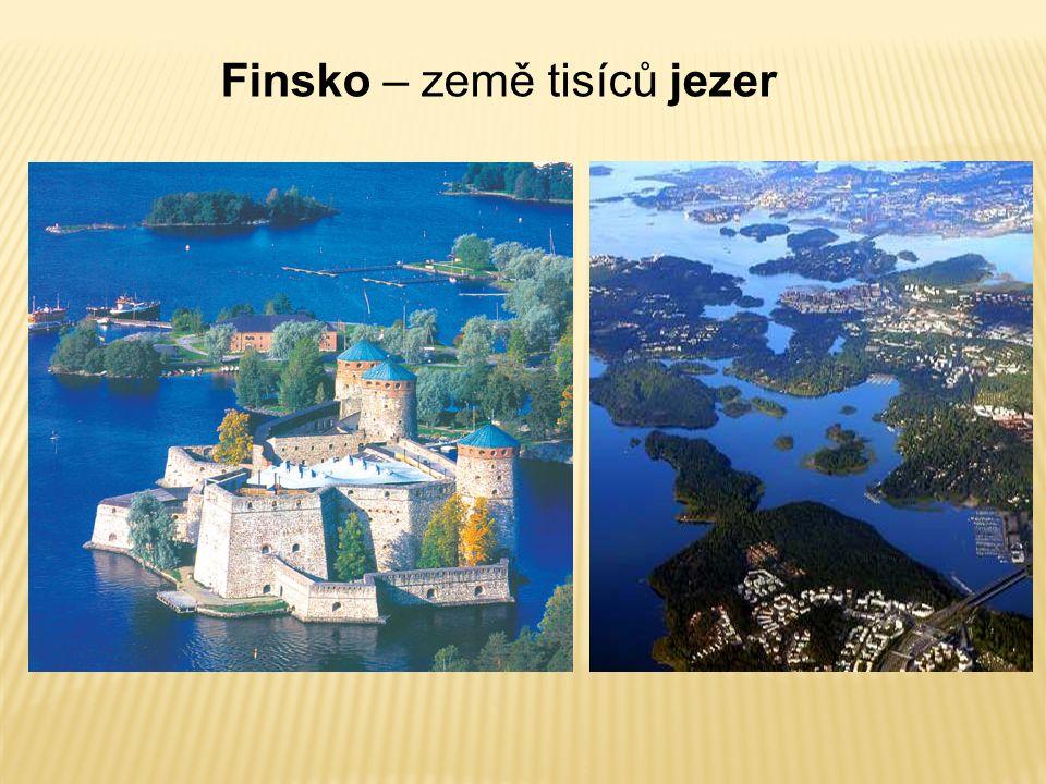 Finsko – země tisíců jezer