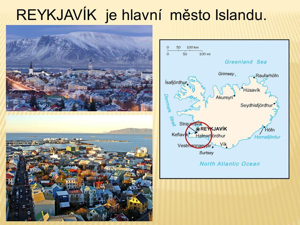 REYKJAVÍK je hlavní město Islandu..