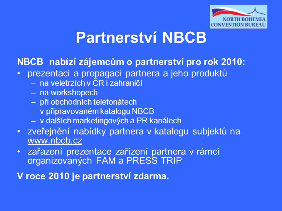 Partnerství NBCB Co je třeba učinit, abyste se mohli stát partnerem NBCB: vyplnit přihlášku partnera (na www.nbcb.cz), vyjádřit souhlas se Statutem a Etickým kodexem (na www.nbcb.cz) rozhodnutí správní rady NBCB o přijetí