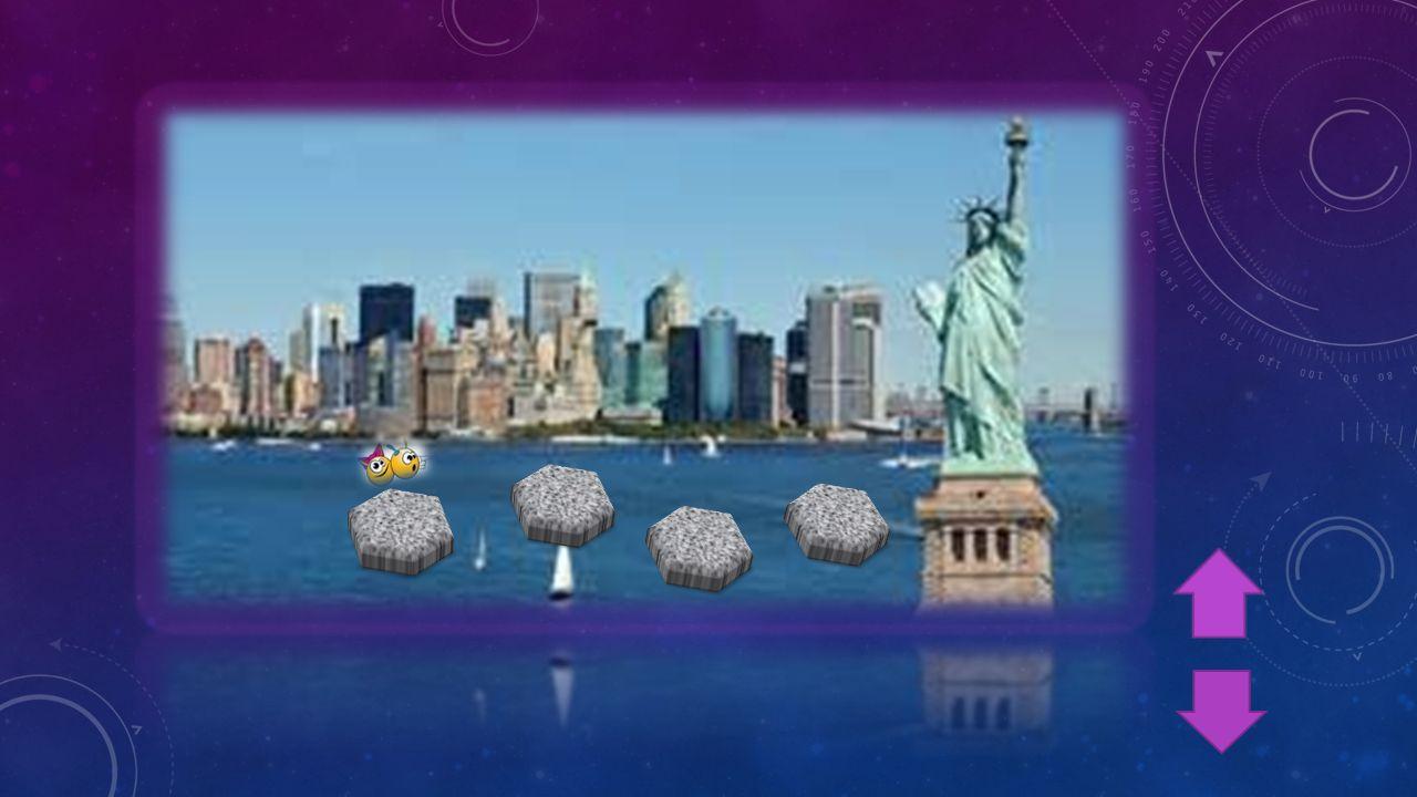 V TÉTO HŘE SE MUSÍŠ DOSTAT Z BŘEHU NEW YORKU PO KAMENECH AŽ K SOŠE SVOBODY.