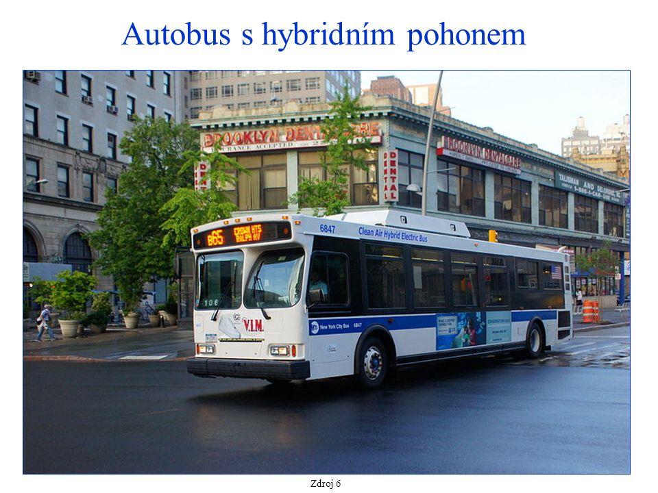 Autobus s hybridním pohonem Zdroj 6
