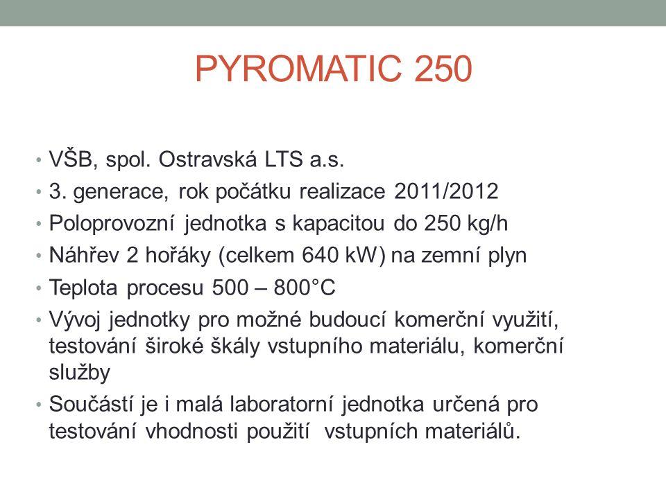 PYROMATIC 250 VŠB, spol. Ostravská LTS a.s. 3.
