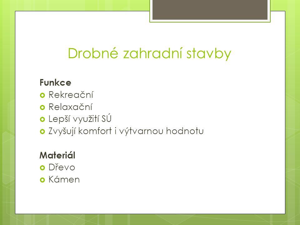 Zdroje:  HURYCH, Václav.Tvorba zeleně: sadovnictví - krajinářství.