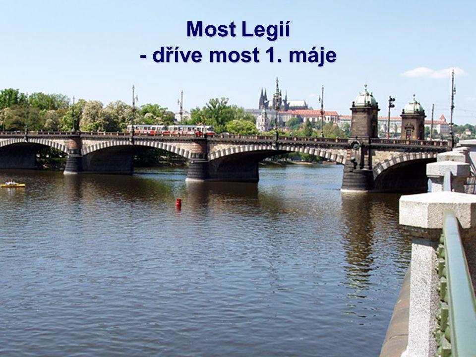 Jiráskův most je sedmý most přes Vltavu směrem po proudu řeky v Praze spojující z Jiráskova náměstí pravobřežní pražské Nové Město a levobřežní čtvrť
