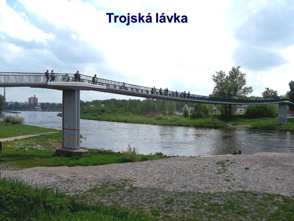 Holešovický tramvajový most Most je součástí souboru staveb Městského okruhu v Praze a spojuje Partyzánskou ulici v Holešovicích s oblastí ulic Povlta