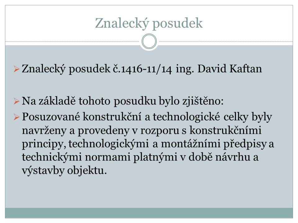 Znalecký posudek  Znalecký posudek č.1416-11/14 ing.