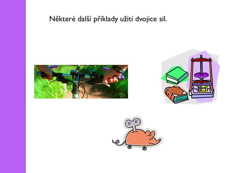 Některé další příklady užití dvojice sil.