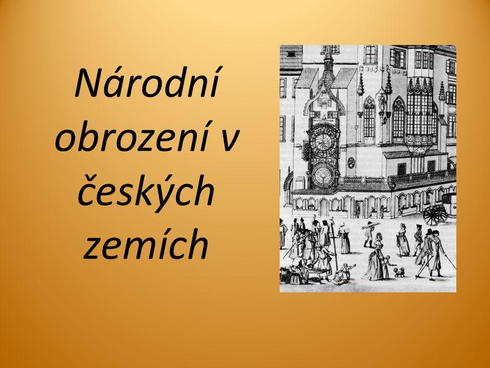 Národní obrození v českých zemích