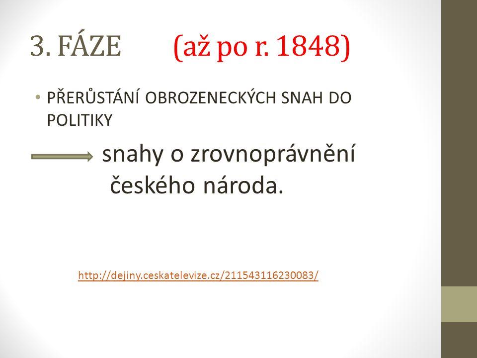 3. FÁZE (až po r.