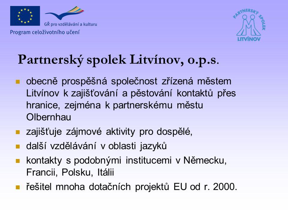 Partnerský spolek Litvínov, o.p.s.