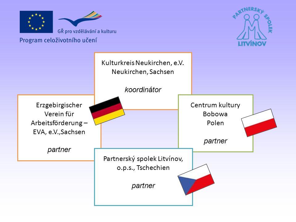 Erzgebirgischer Verein für Arbeitsförderung – EVA, e.V.,Sachsen partner Kulturkreis Neukirchen, e.V.
