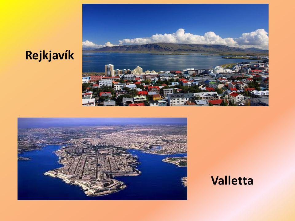+ Rejkjavík Valletta