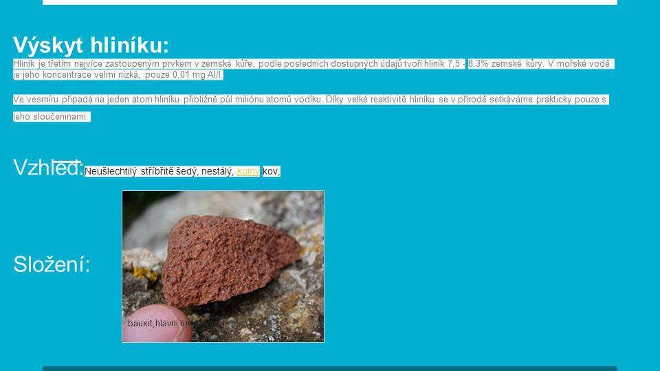 Zinek Výskyt ●V přírodě se ZINEK vyskytuje pouze ve sloučeninách ●Nejznámější a hlavní rudou je minerál SFALERIT ( Sulfit zinečnatý) i kalamín (Uhličitan zinečnatý) ●Zinek je i biogenní prvek a vyskytuje se v živých organizmech ( převážně jako součást různých enzymů) ●Tělo dospělého člověka obsahuje pouze 2 g tohoto kovu
