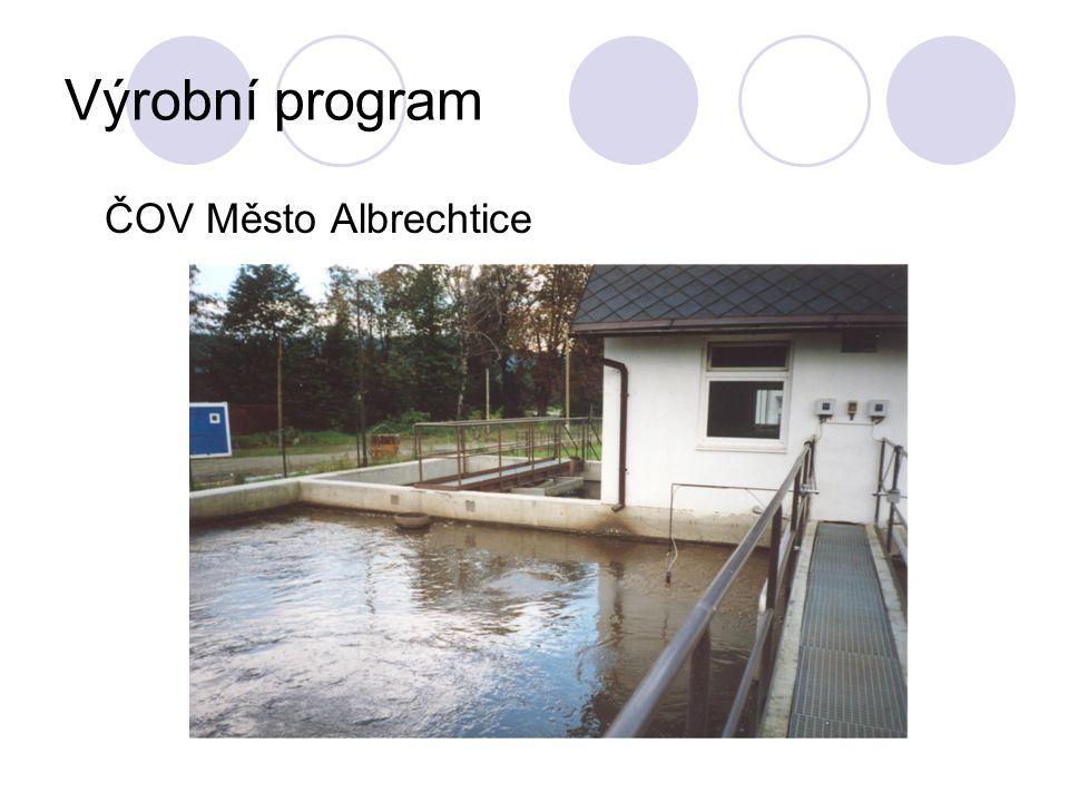 Výrobní program ČOV Město Albrechtice