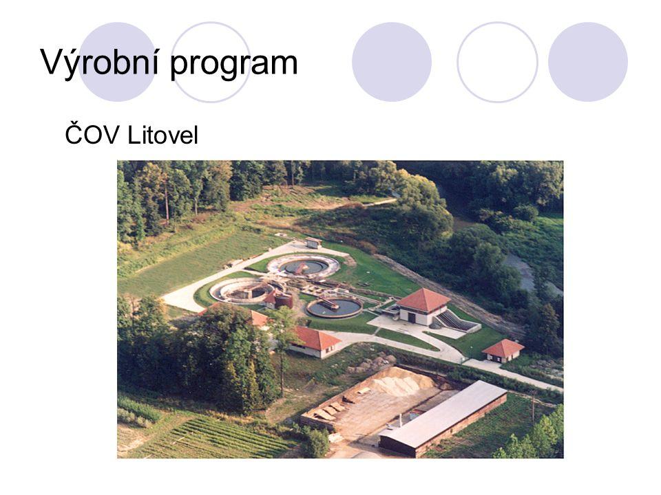 Výrobní program ČOV Litovel