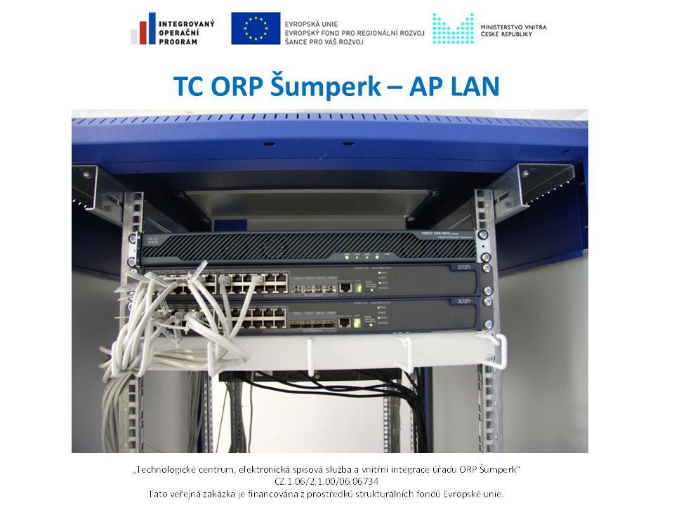TC ORP Šumperk – AP LAN