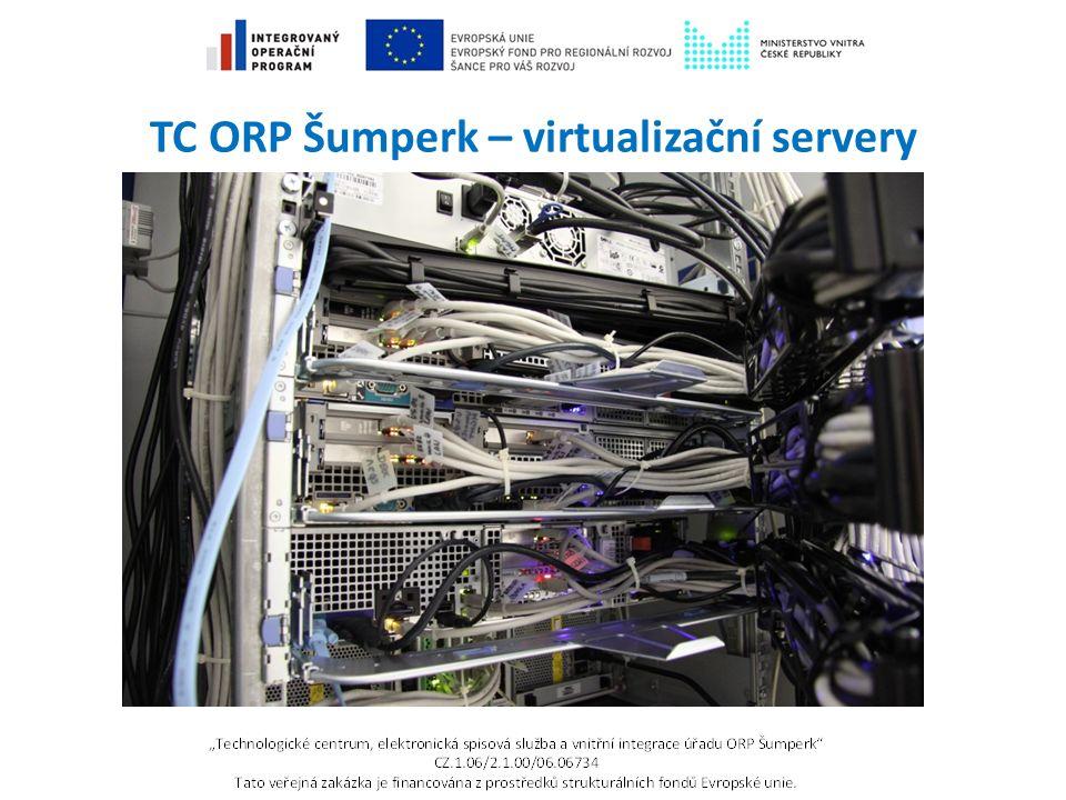 TC ORP Šumperk – virtualizační servery