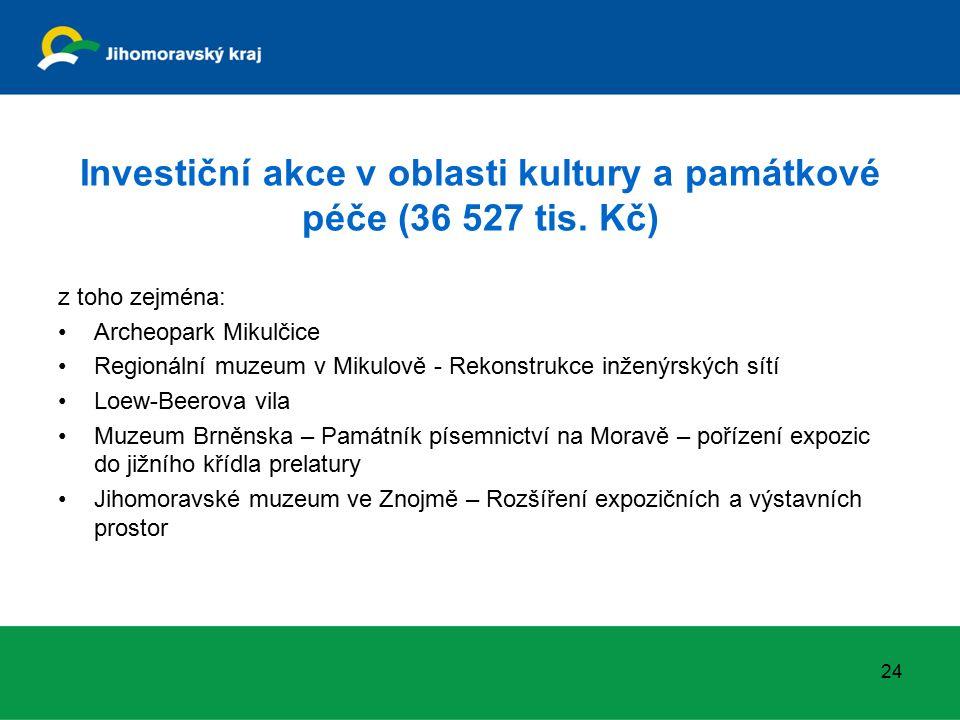 Ostatní významné investiční akce (246 780 tis.