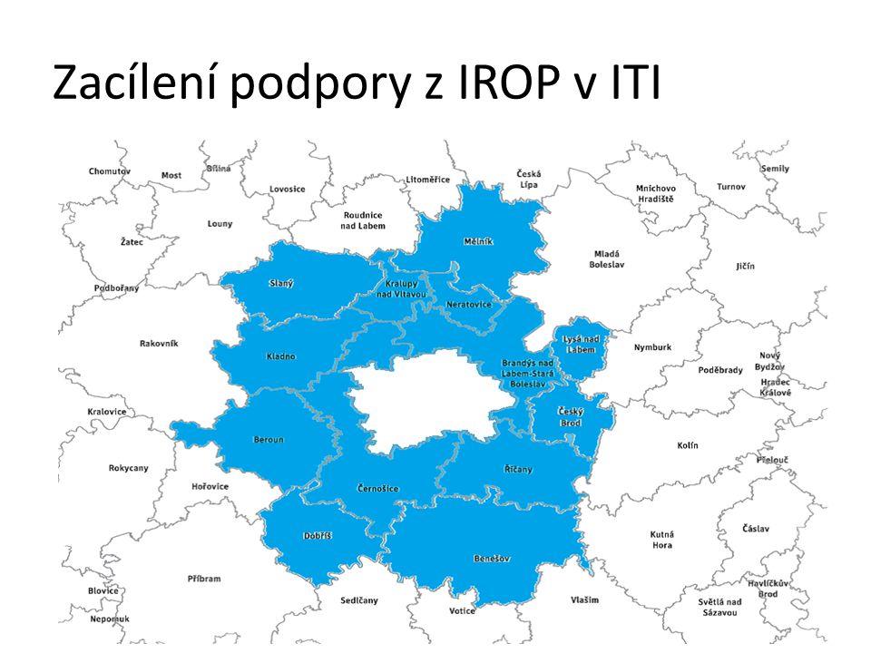 Zacílení podpory z IROP v ITI