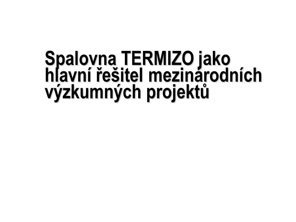 Spalovna TERMIZO jako hlavní řešitel mezinárodních výzkumných projektů