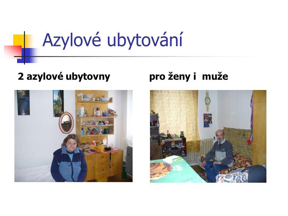 Azylové ubytování 2 azylové ubytovnypro ženy i muže
