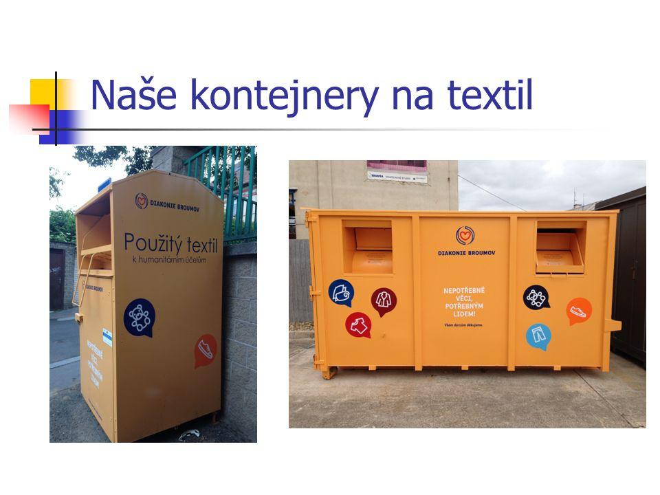 Naše kontejnery na textil