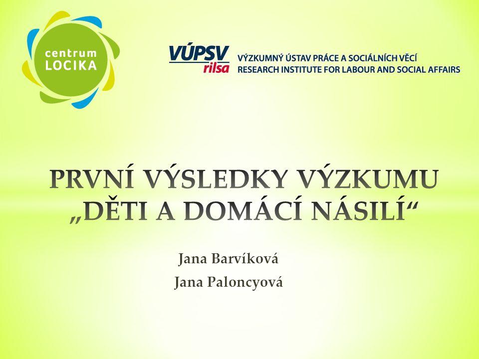 Jana Barvíková Jana Paloncyová