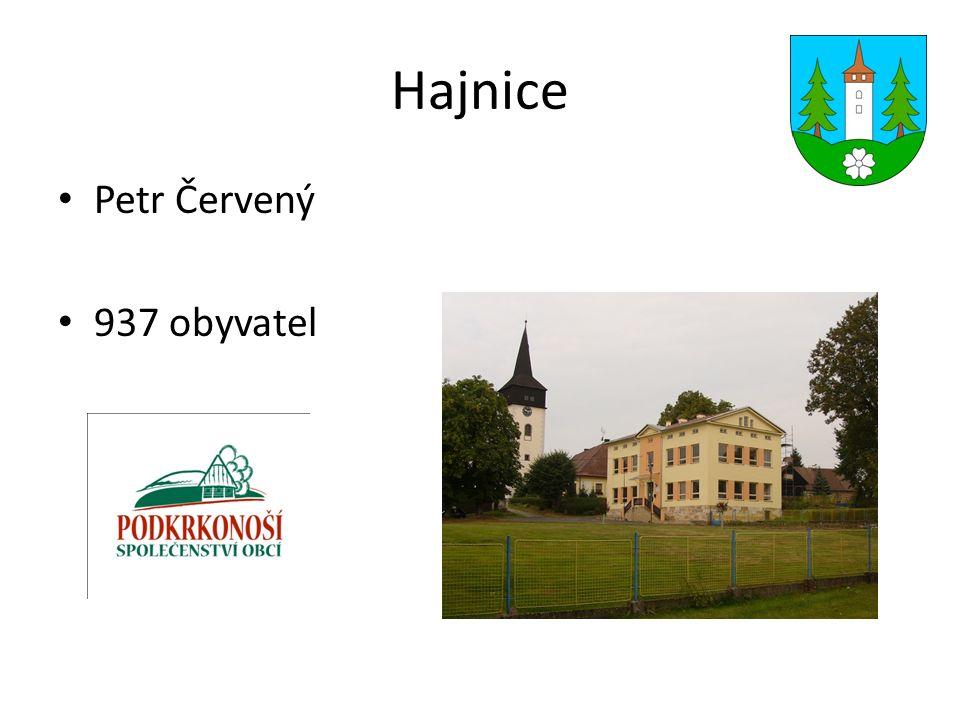 Hajnice Petr Červený 937 obyvatel