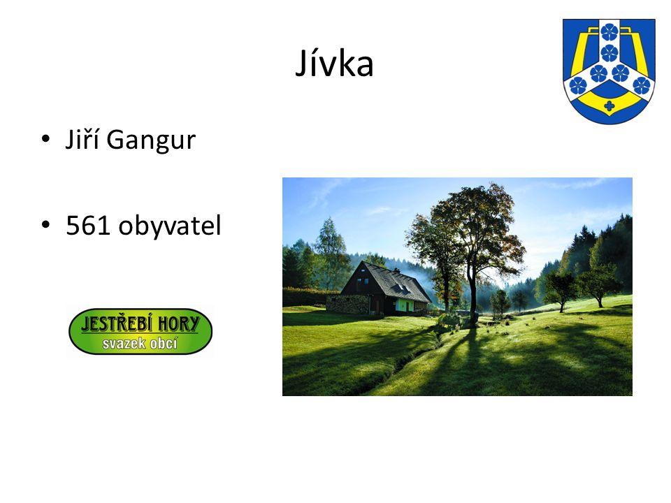 Jívka Jiří Gangur 561 obyvatel