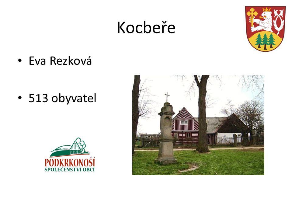 Kocbeře Eva Rezková 513 obyvatel