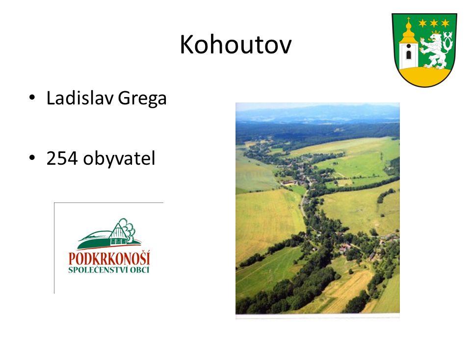 Kohoutov Ladislav Grega 254 obyvatel