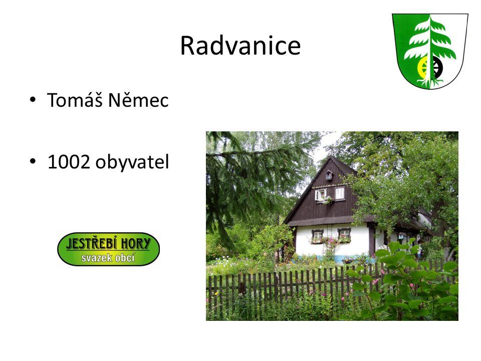 Radvanice Tomáš Němec 1002 obyvatel