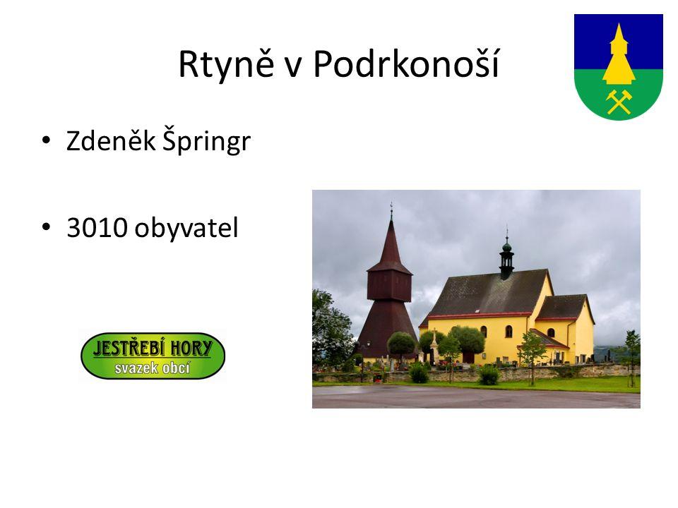 Rtyně v Podrkonoší Zdeněk Špringr 3010 obyvatel