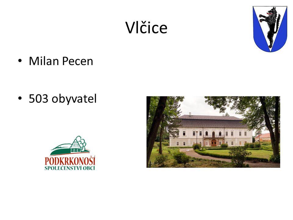 Vlčice Milan Pecen 503 obyvatel
