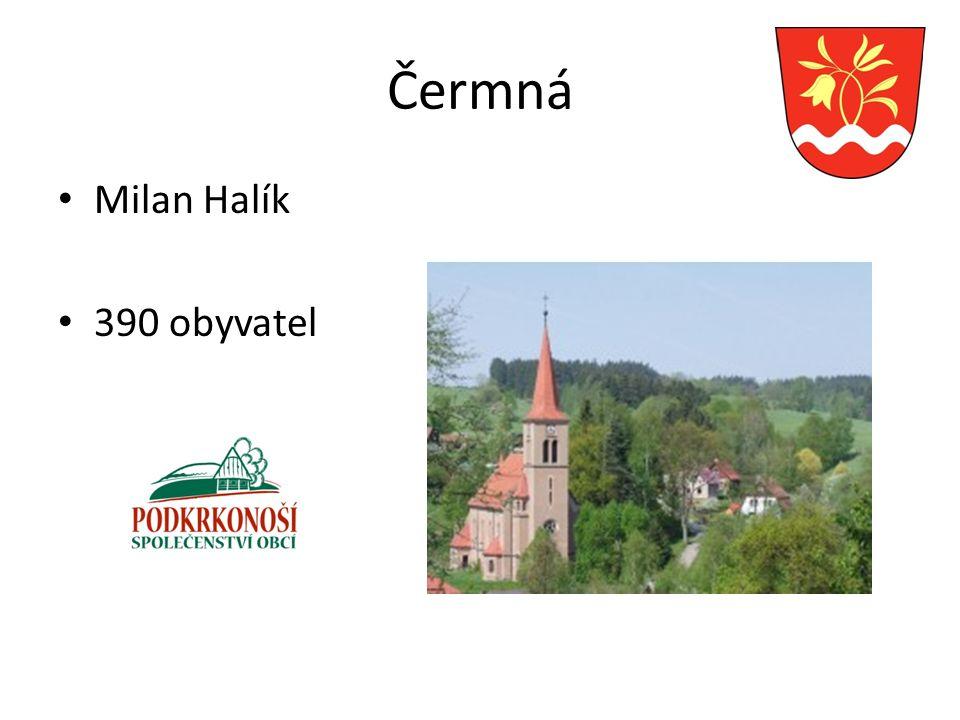 Čermná Milan Halík 390 obyvatel