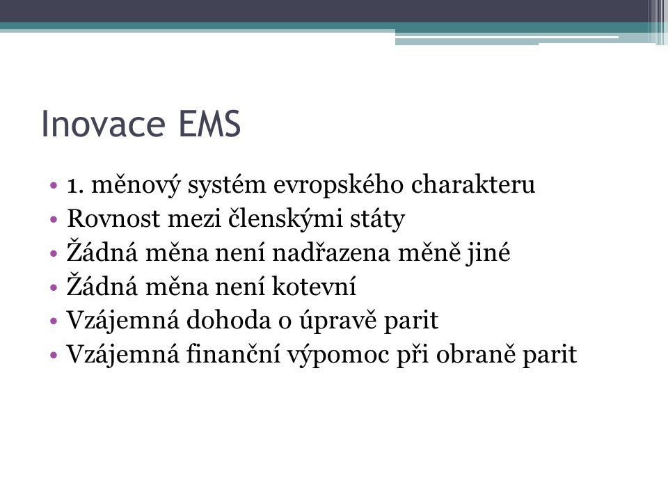 Inovace EMS 1.