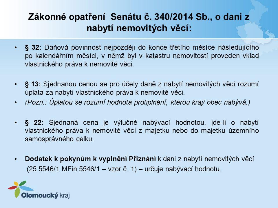 Zákonné opatření Senátu č.