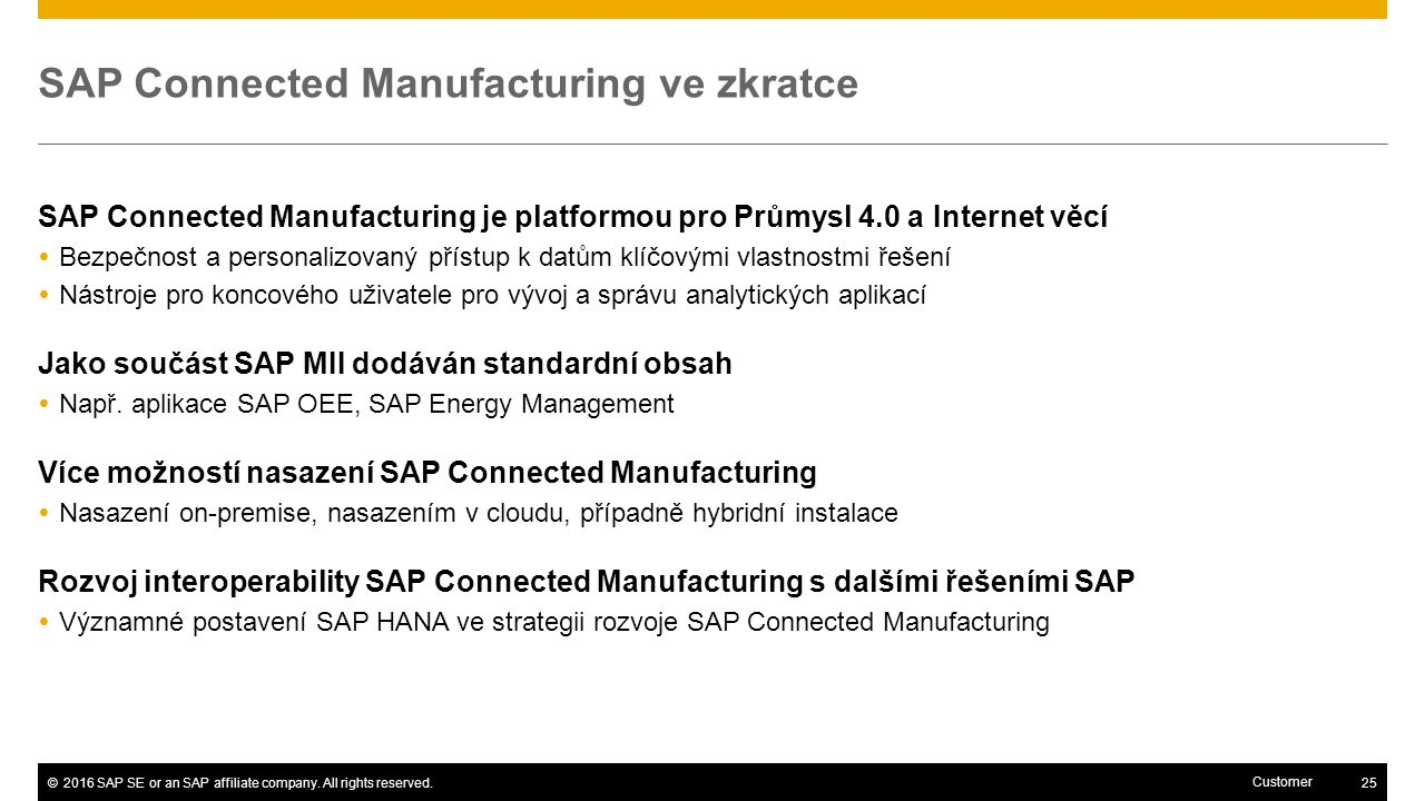©2016 SAP SE or an SAP affiliate company.