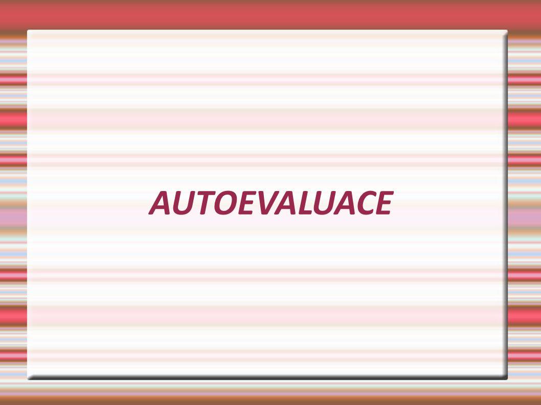 AUTOEVALUACE