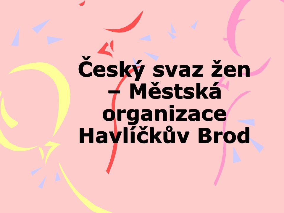 Český svaz žen – Městská organizace Havlíčkův Brod