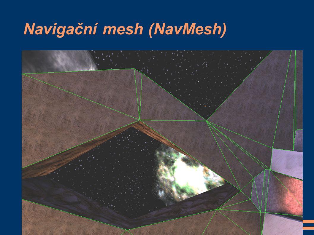 Navigační mesh (NavMesh)