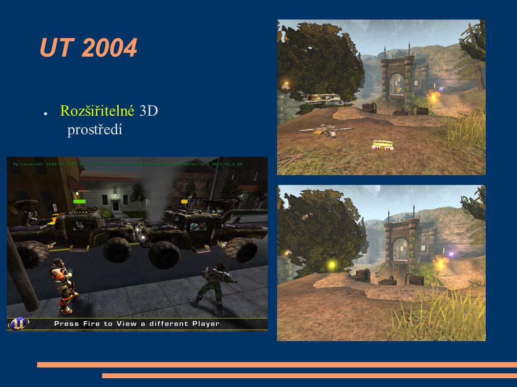 UT 2004 ● Rozšiřitelné 3D prostředí