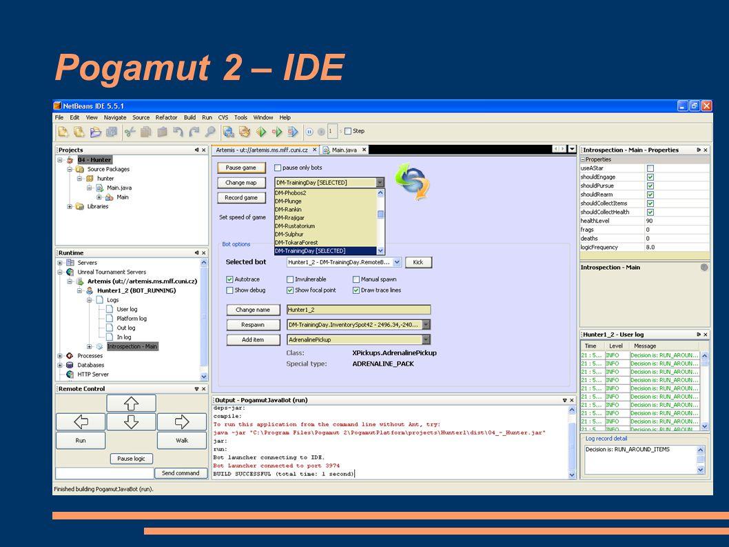 Pogamut 2 – IDE
