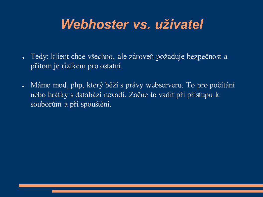 Webhoster vs.