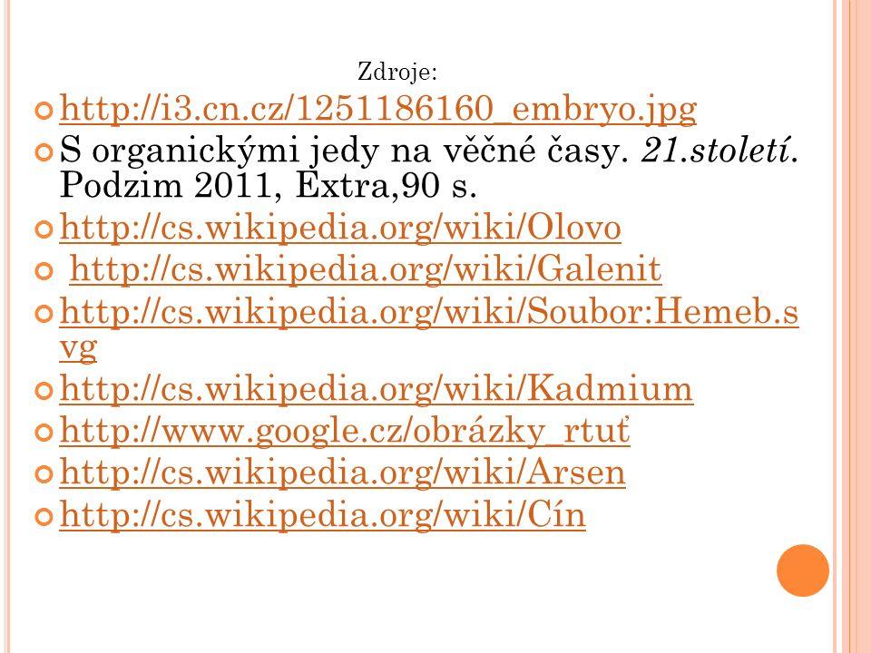http://i3.cn.cz/1251186160_embryo.jpg S organickými jedy na věčné časy.