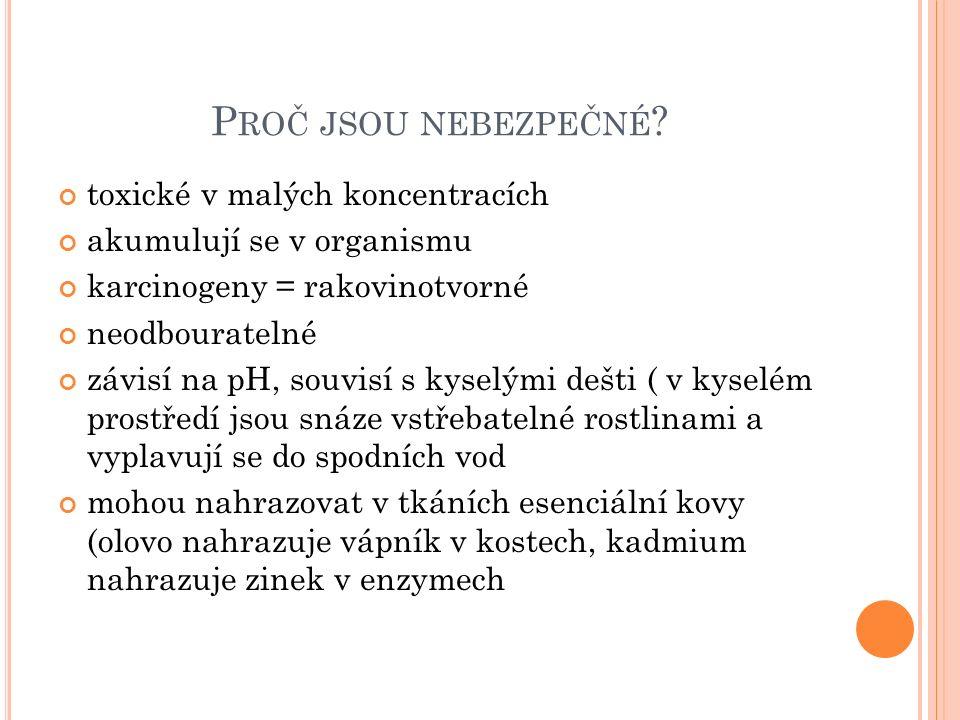 P ROČ JSOU NEBEZPEČNÉ .